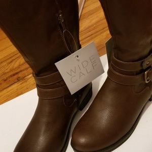 Life Stride Wide Calf Boots Size 6.5 M